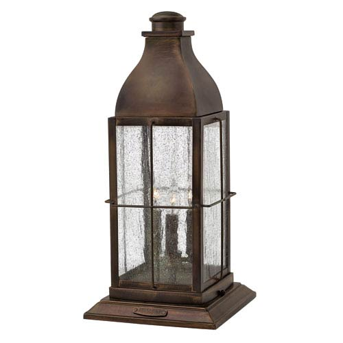 Hinkley Bingham Sienna Three-Light Outdoor Post Mounted