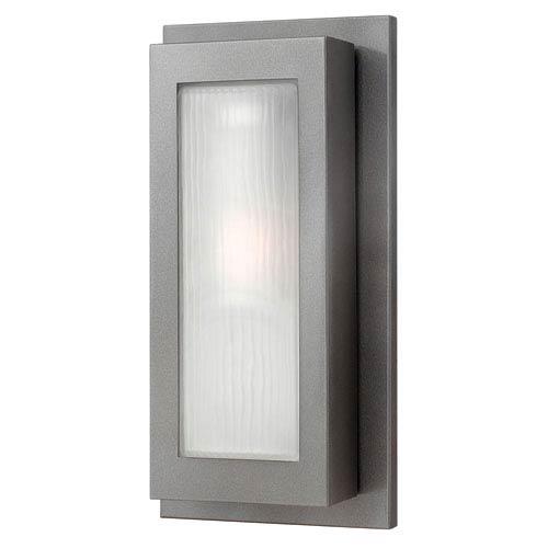 Titan Hematite One-Light Medium Outdoor Wall Light