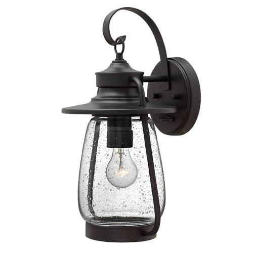 Hinkley Calistoga Spanish Bronze 18-Inch One-Light Outdoor Wall Lantern