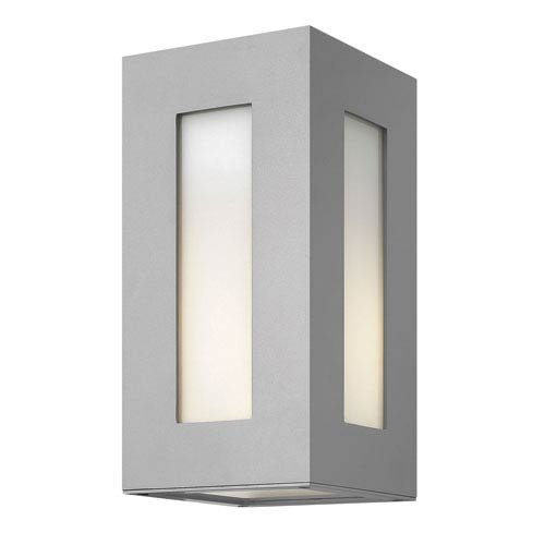 Dorian Titanium Two-Light LED Outdoor Wall Sconce