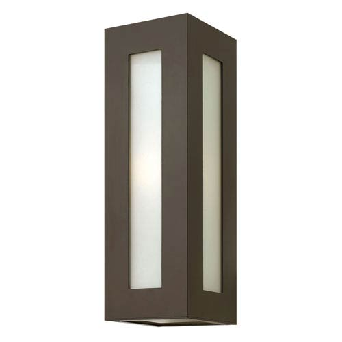 Hinkley Dorian Bronze 18-Inch One-Light Fluorescent Outdoor Wall Light
