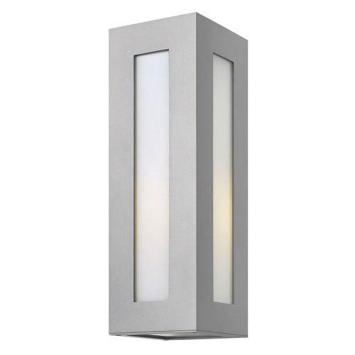 Dorian Titanium 18-Inch One-Light Outdoor Wall Light