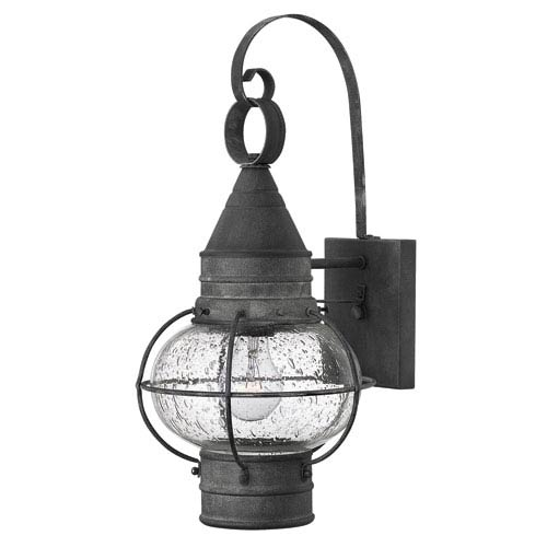 Cape Cod Aged Zinc 18-Inch One-Light Outdoor Wall Sconce