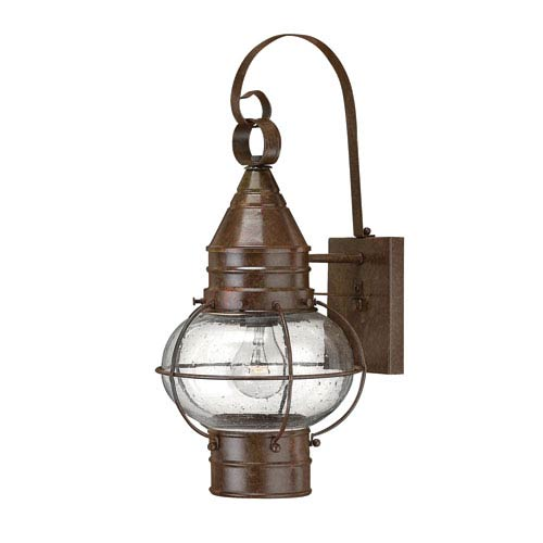 Hinkley Cape Cod Medium Sienna Bronze LED Outdoor Wall Mount