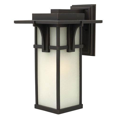 Hinkley Manhattan Oil Rubbed Bronze 18.5-Inch One-Light Fluorescent Outdoor Lantern