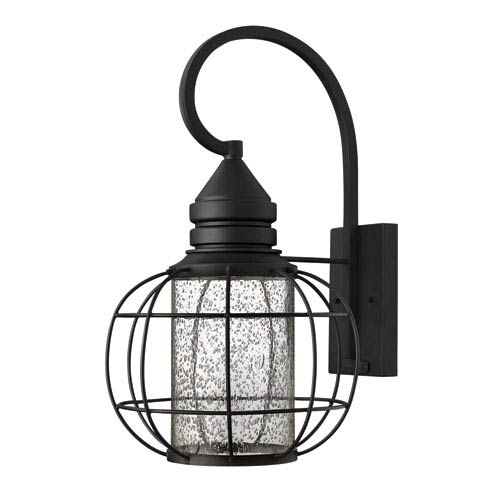 Hinkley New Castle Black 19.5-Inch One-Light Halogen Outdoor Lantern