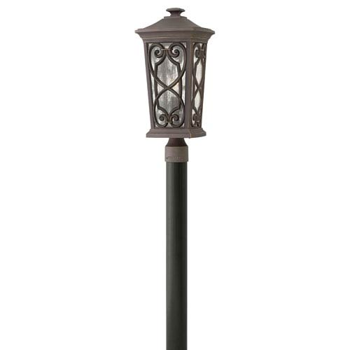 Enzo Oil Rubbed Bronze LED Outdoor Post Mount