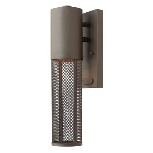 Hinkley Aria Buckeye Bronze 4.5-Inch One-Light Outdoor Wall Mounted