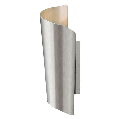 Hinkley Surf Stainless Steel 24-Inch Two Light LED Outdoor Wall Light