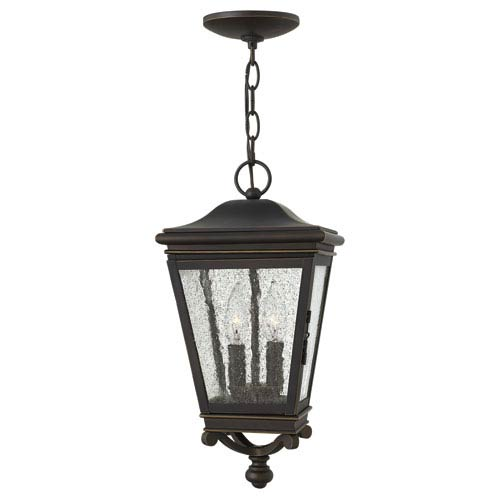 Hinkley Lincoln Oil Rubbed Bronze Two-Light Outdoor Pendant