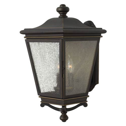 Lincoln Oil Rubbed Bronze 19-Inch Three-Light Outdoor Wall Sconce