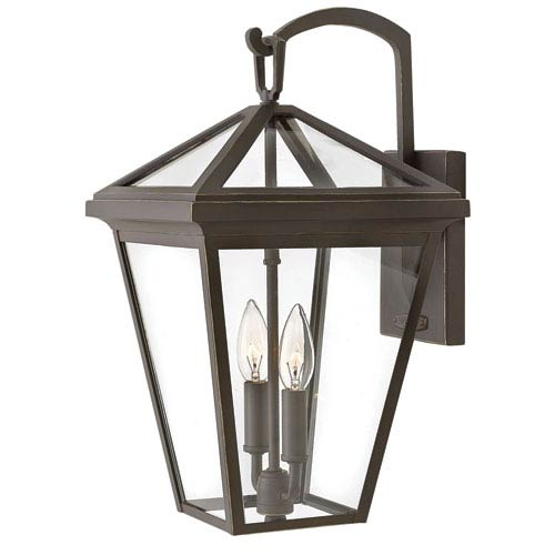 Hinkley Alford Place Oil Rubbed Bronze 10-Inch Outdoor Wall Mount