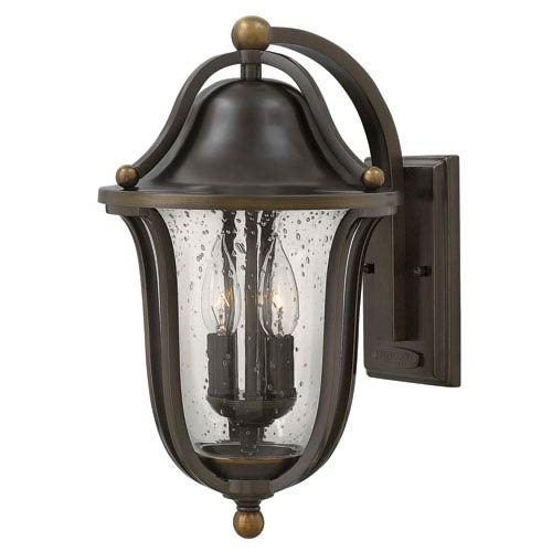Bolla Olde Bronze Two-Light Outdoor Wall Sconce