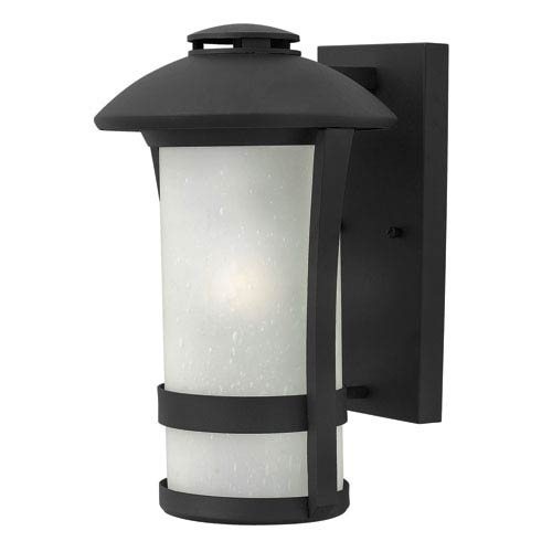 Hinkley Chandler Black 14.5-Inch One-Light Outdoor Wall Mounted
