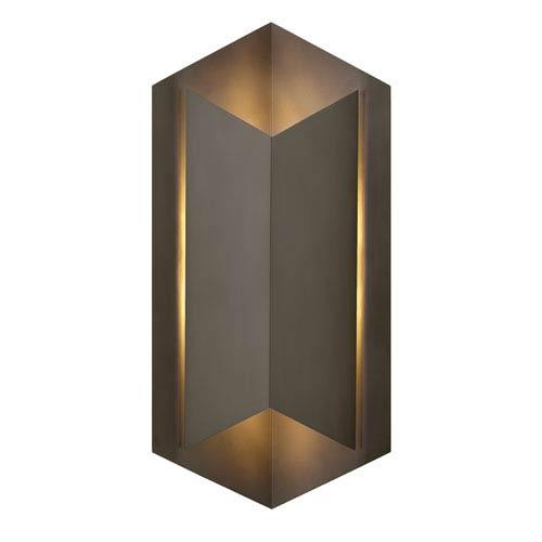 Lex Bronze 22-Inch One-Light Outdoor Wall Sconce