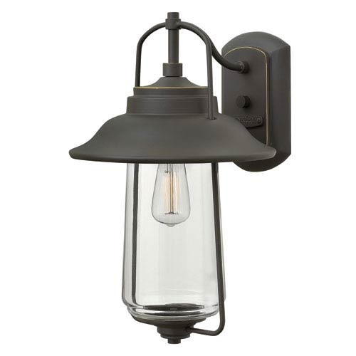 Belden Place Oil Rubbed Bronze 16-Inch One-Light Outdoor Wall Sconce