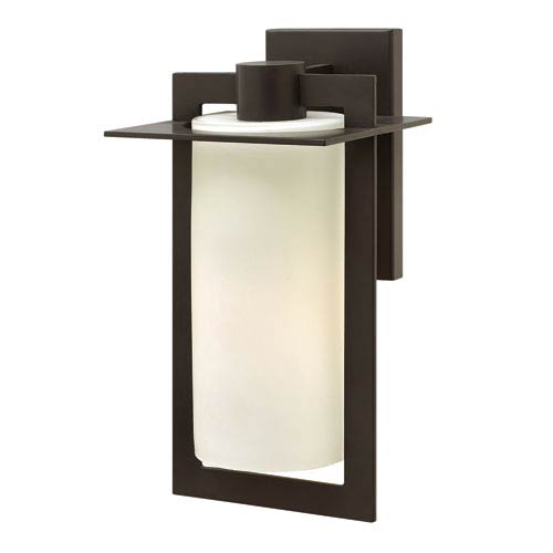 Colfax Bronze 15-Inch One-Light Outdoor Wall Mounted