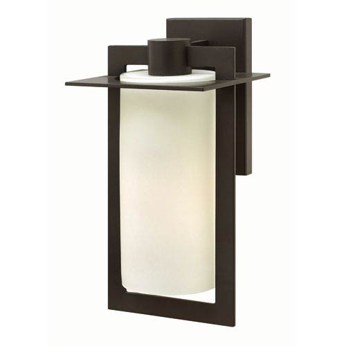 Hinkley Colfax Bronze 7.5-Inch One-Light Outdoor Wall Mounted