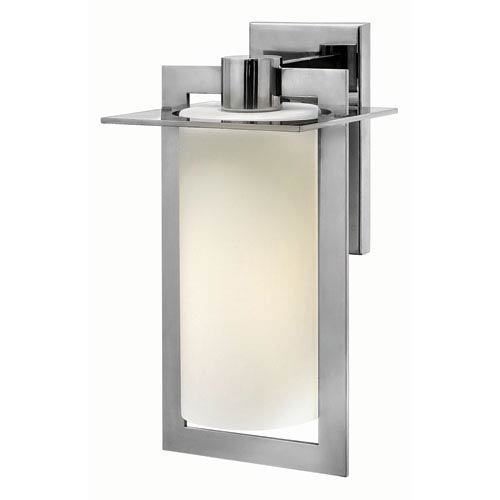 Hinkley Colfax Polished Stainless Steel 7.5-Inch One-Light Outdoor Wall Mounted