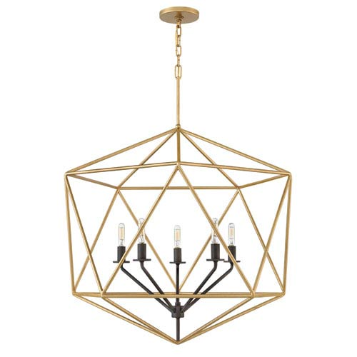 Astrid Deluxe Gold Six-Light Pendant