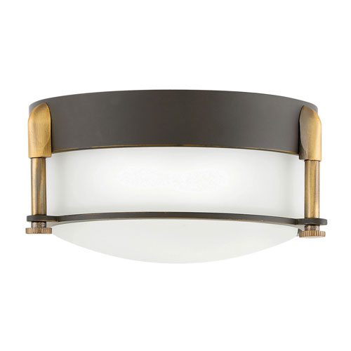 Hinkley Colbin Oil Rubbed Bronze LED Flush Mount