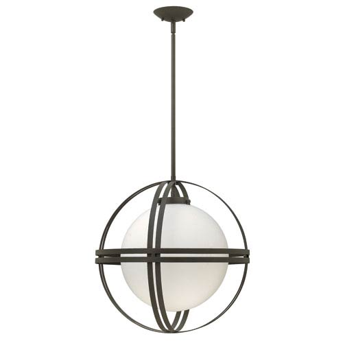 Atrium Bronze One-Light Pendant