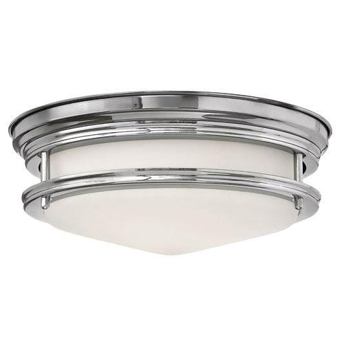 Hadley Chrome One-Light LED Flush Mount