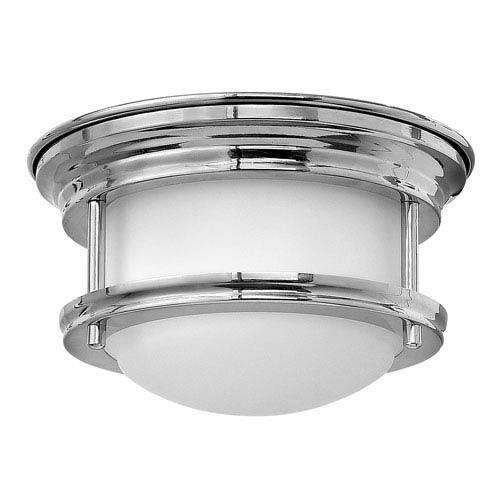 Hadley Chrome 8-Inch One-Light LED Flush Mount