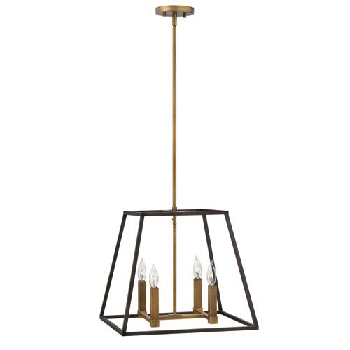 Fulton Bronze Four-Light Foyer Pendant
