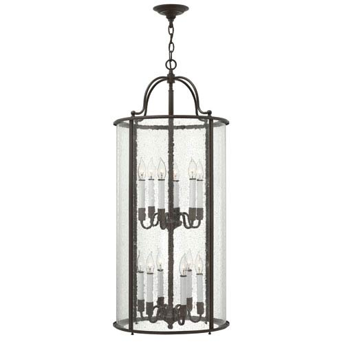 Hinkley Gentry Olde Bronze 12 Light Pendant