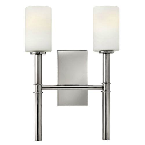 Hinkley Margeaux Polished Nickel Two Light Sconce