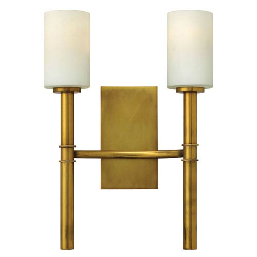 Hinkley Margeaux Vintage Brass Two-Light Sconce