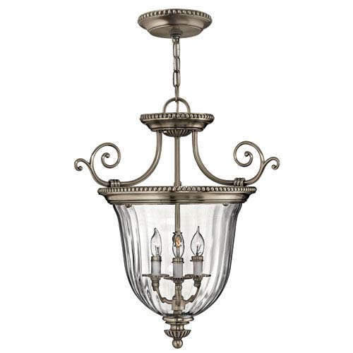 Oxford Small Pewter Urn Pendant