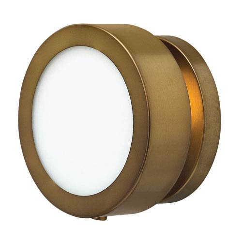 Mercer Heritage Brass One-Light Wall Sconce