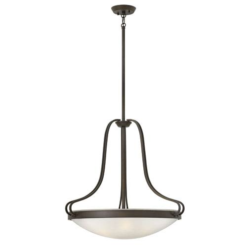 Paxton Olde Bronze Four-Light Foyer Pendant