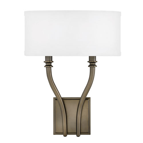 Hinkley Surrey Oiled Bronze Two-Light Wall Sconce