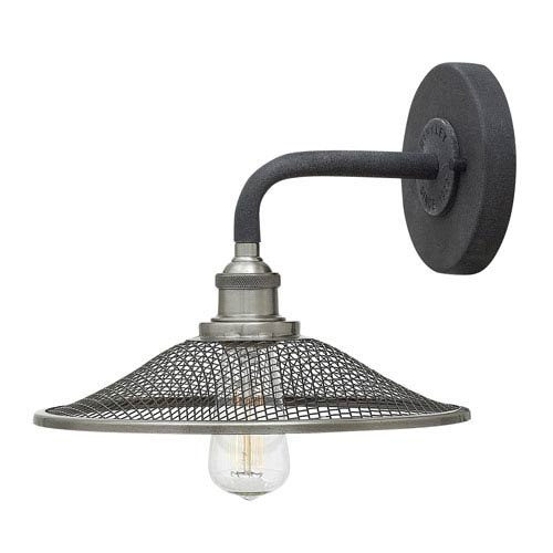 Rigby Aged Zinc One-Light Sconce