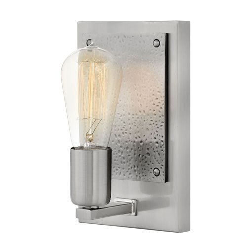 Hinkley Everett Brushed Nickel One-Light Wall Sconce
