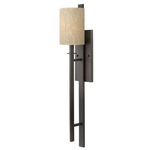 Sloan Regency Bronze One-Light Wall Sconce