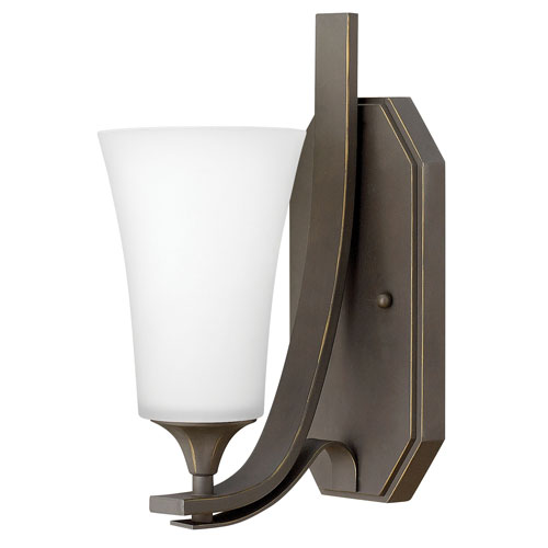Hinkley Brantley Oil Rubbed Bronze 5-Inch One-Light Wall Sconce
