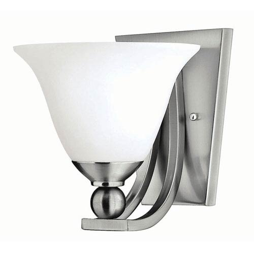 Hinkley Bolla Brushed Nickel One-Light Bath Fixture
