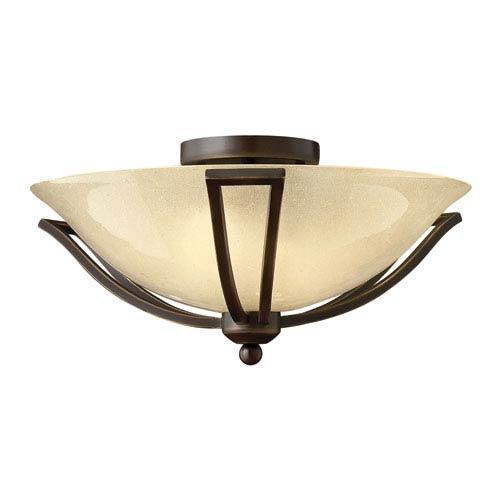 Hinkley Bolla Olde Bronze Flush Mount Ceiling Light