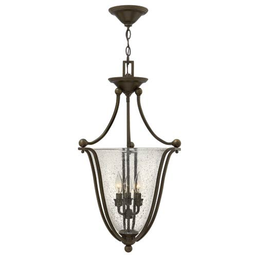 Bolla Olde Bronze 29-Inch Three-Light Foyer Pendant
