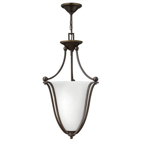 Hinkley Bolla Olde Bronze 16-Inch Three Light Foyer Pendant