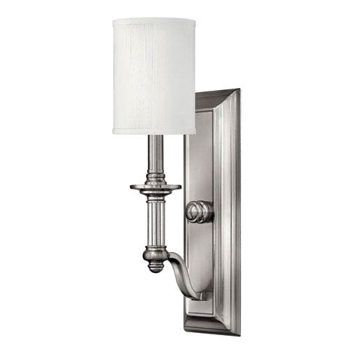 Sussex Brushed Nickel One-Light Wall Sconce