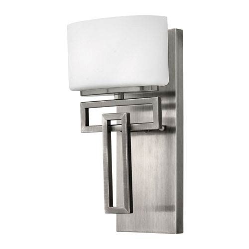 Lanza Antique Nickel One-Light LED Bath Sconce