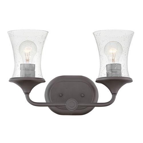 Hinkley Thistledown Buckeye Bronze Two-Light Bath Light