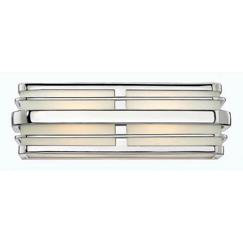 Winton Chrome Two Light Bath Fixture