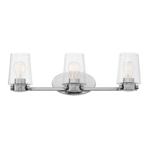 Hinkley Branson Chrome Three-Light Bath Light