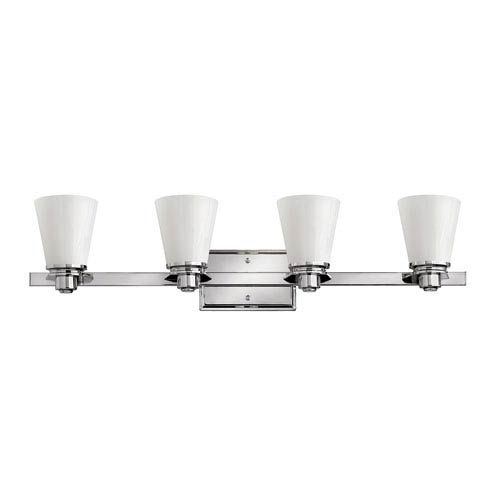 Hinkley Avon Light Series Four-Light Bath Fixture